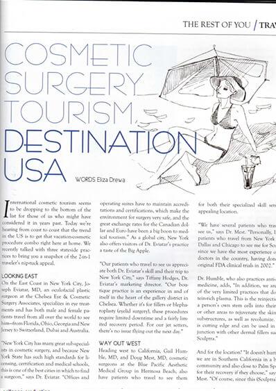 Cosmetic Surgery Tourism, Destination USA photo